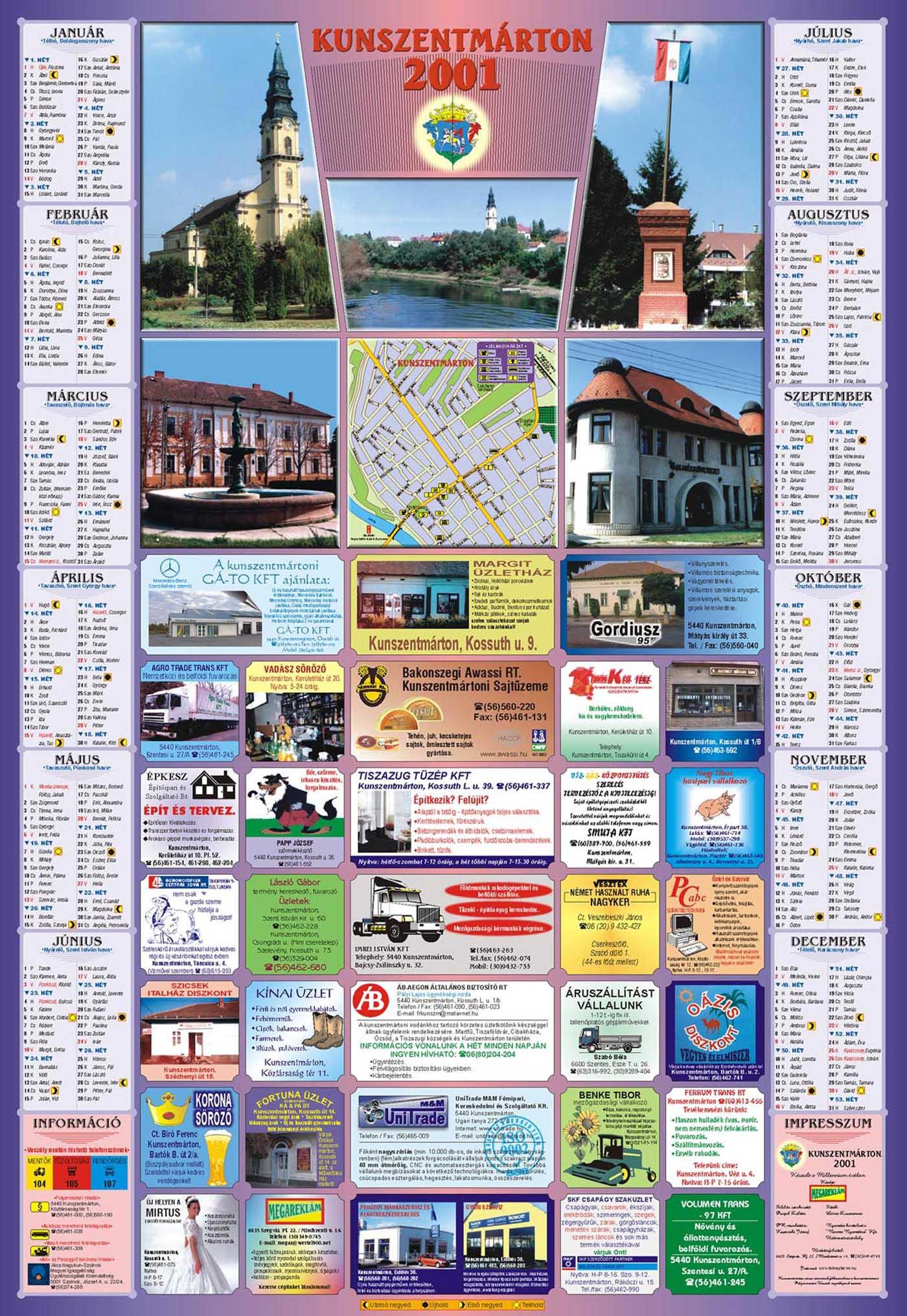 13-Kunszentmarton2001Falinaptar-2000