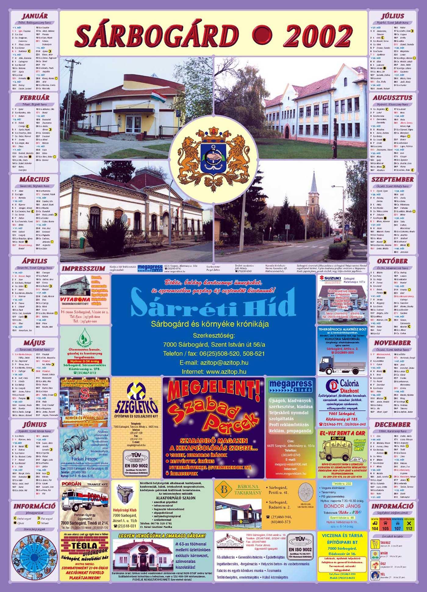 15-Sarbogard2002Falinaptar-2001